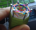 another DIY loom for the hexafish bracelet